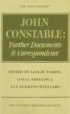 John Constable, Further Documents and Correspondence