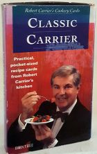 Robert Carrier's Cookery Cards Carrier Entertains Practical Pocket Sized Recipe Cards from Robert Carrier's Kitchen
